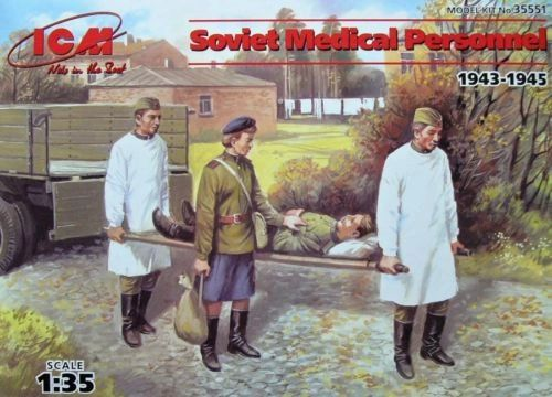 1/35 Soviet Medical Personnel 1943-1945 (4) - ICM 35551