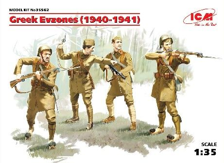 1/35 Greek Evzones 1940-41 (4) - ICM 35562