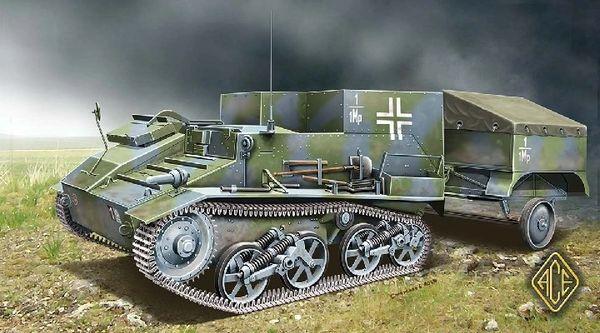 1/72 Munitionspanzer Mk VI 736(e) German Halftrack Ammunition Carrier - ACE 72520