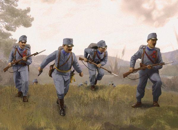 1/35 Austro-Hungarian Infantry 1914 (4) - ICM 35673