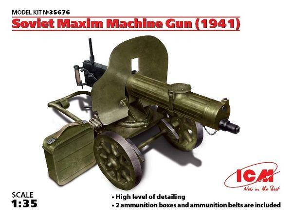 1/35 Soviet Maxim Machine Gun 1941 - ICM 35676
