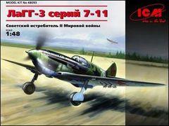 1/48 WWII Soviet LaGG3 Series 7-11 Fighter Africanda Airfield - ICM 48093