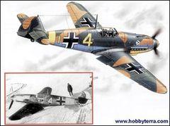 1/48 WWII Messerschmitt Bf109F4 Fighter - ICM 48103