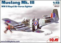 1/48 WWII Royal Mustang Mk III AF Fighter - ICM 48123