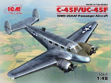 1/48 WWII C45F/UC45F USAAF Passenger Aircraft - ICM 48181