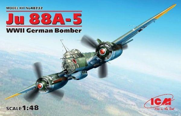 1/48 WWII German Ju88A5 Bomber - ICM 48232