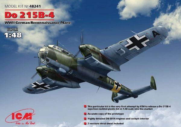1/48 WWII German Do215B4 Recon Aircraft - ICM 48241