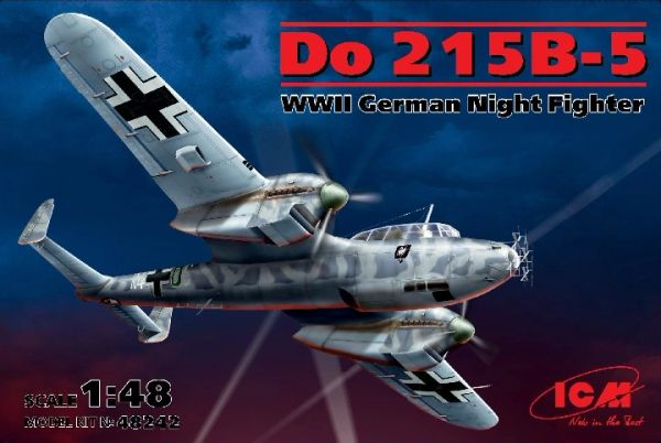 1/48 WWII German Do215B5 Night Fighter - ICM 48242