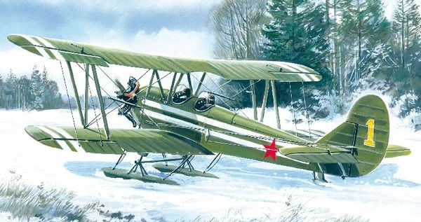 1/48 WWII Soviet U2/Po2 Multi-Purpose Aircraft - ICM 48251