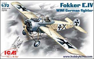 1/72 WWI German Fokker E IV Fighter - ICM 72111