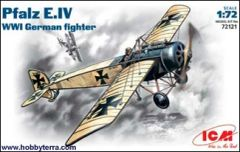 1/72 WWI German Pfalz E IV Fighter - ICM 72121