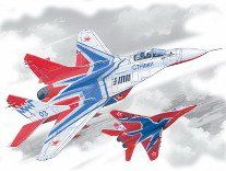 1/72 Russian MiG29 9-13 Aerobatic Team Swifts Aircraft - ICM 72142