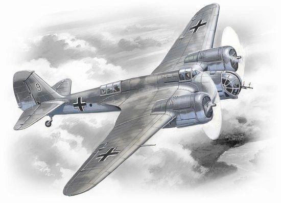 1/72 WWII German Avia B71 AF Bomber - ICM 72163
