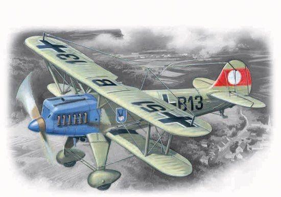 1/72 Heinkel He51A1 Fighter - ICM 72193