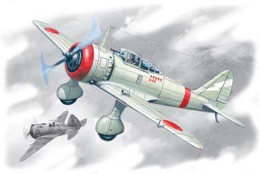 1/72 Japanese Ki27b Army Fighter - ICM 72202