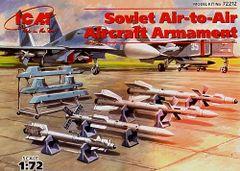 1/72 Soviet Air-to-Air Aircraft Armament Set - ICM 72212