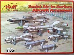 1/72 Soviet Air-to-Surface Aircraft Armament Set - ICM 72213