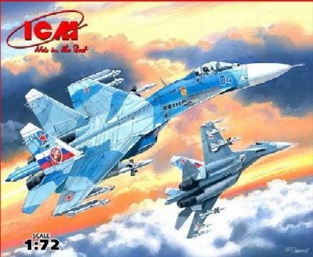 1/72 Russian Su27 Fighter (D) - ICM 72221