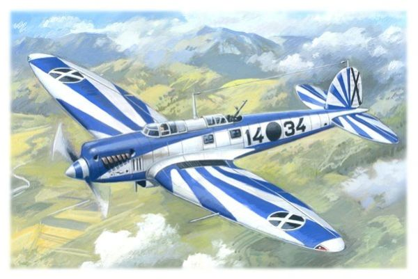 1/72 Spanish He70F2 Recon Aircraft - ICM 72231