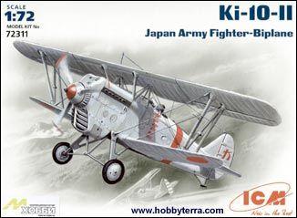 1/72 Ki1011 Type 95 Japanese Army BiPlane Fighter - ICM 72311