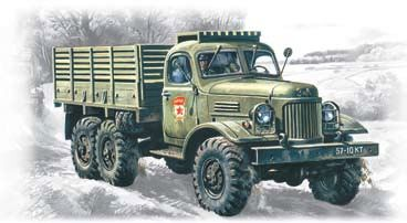 1/72 Soviet ZIL157 Army Truck - ICM 72541
