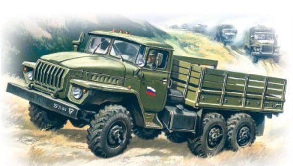 1/72 Ural 4320 Army Truck - ICM 72611