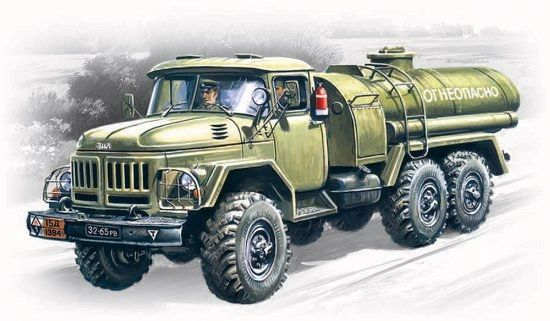 1/72 ATZ4-131 Military Fuel Truck - ICM 72813