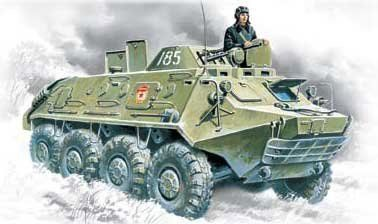 1/72 BTR60PB Armored Personnel Carrier - ICM 72911