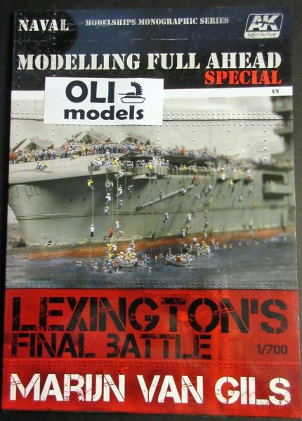 Lexington's Final Battle Modeling Full Ahead Special Book - AK Interactive 667
