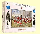 1/32 English Civil War: Pikemen (20) - A Call to Arms 02