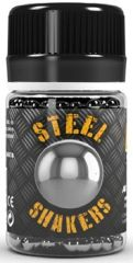 Steel Shakers (Balls) for Paint Mixing (120) - AK Interactive 678