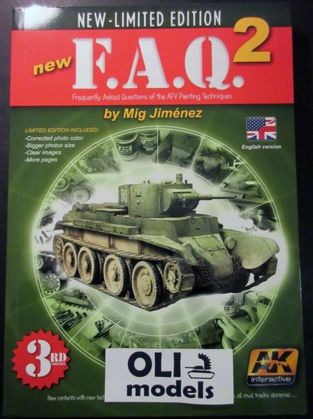 FAQ 2 AFV Painting Techniques Mig Jimenez 3rd Limited Edition Book - AK Interactive 38