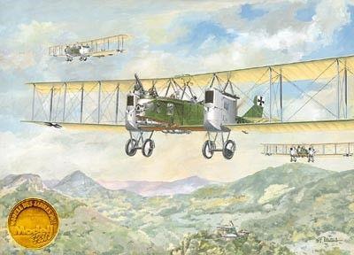 1/72 Gotha G II/III German WWI Biplane Bomber - Roden 2