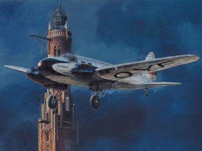 1/72 Heinkel He111C WWII German Bomber - Roden 9