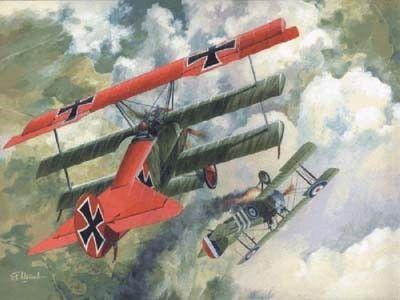 1/72 Fokker DR I BiPlane - Roden 10