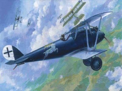1/72 Pfalz D IIIa WWI Aircraft - Roden 15
