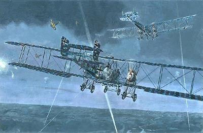 1/72 Gotha G Va/G Vb German BiPlane Bomber - Roden 20