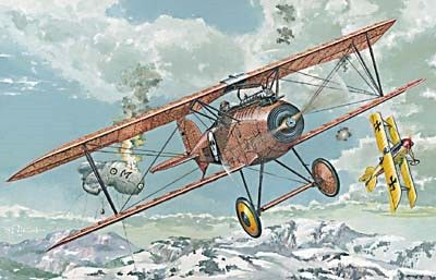 1/72 Albatros D III Oeffag s153 (Early) German BiPlane Fighter - Roden 24