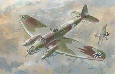 1/72 Heinkel He111E Luftwaffe Bomber - Roden 27