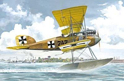 1/72 Albatros W IV (Early) German Fighter Floatplane - Roden 28