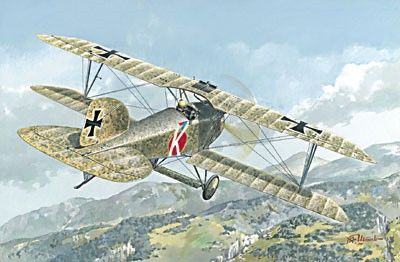 1/72 Albatros D III Oeffag s153 (Late) BiPlane Fighter - Roden 30