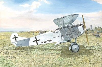 1/72 Fokker D VIIF (Late) WWI German Biplane Fighter - Roden 31