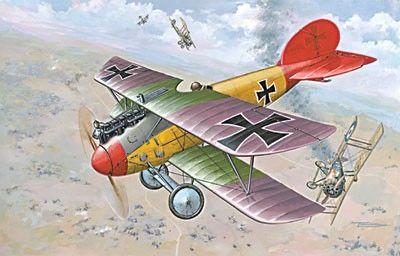 1/72 Albatros D V/D Va German BiPlane Fighter - Roden 32