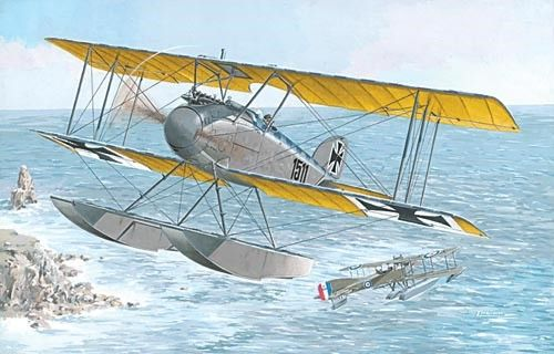1/72 Albatros W IV (Late) German Fighter Floatplane - Roden 34