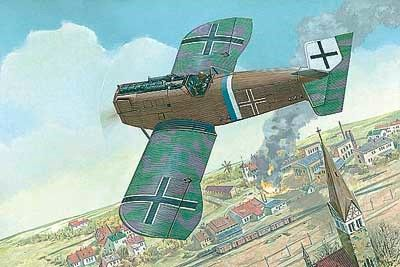1/72 Junkers D I Late German Fighter - Roden 36