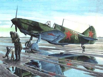 1/72 LaGG3 Series 35 Fighter Bomber - Roden 38