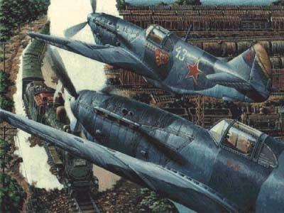 1/72 LaGG3 Series 66 Soviet Fighter Bomber - Roden 39