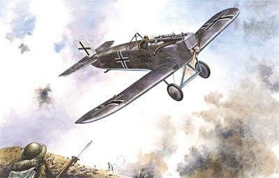 1/72 Junkers D I Heavy German Attacker - Roden 41