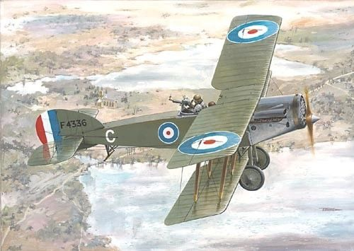 1/72 Bristol F2B Fighter - Roden 43