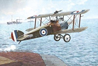 1/72 Sopwith Camel 2F1 Royal AF Fighter - Roden 44